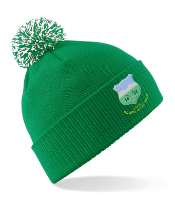 Drom and Inch Green Bobble Hat