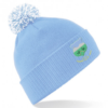 Drom and Inch Sky Blue Bobble Hat
