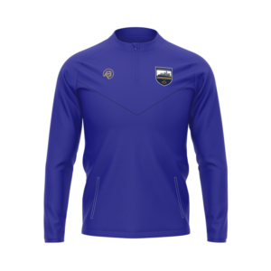 Tipperary Camogie Canelo Blue Half-zip